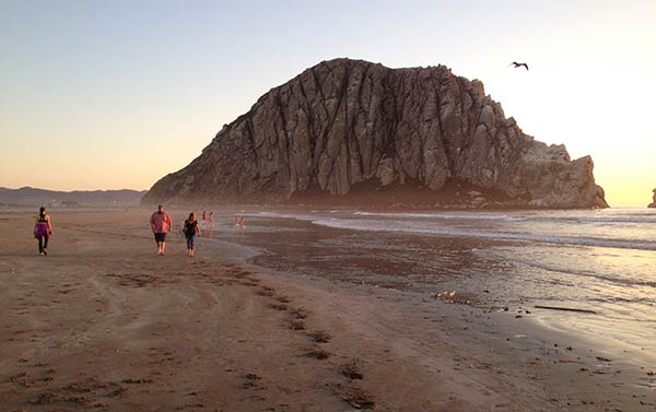 Morro Rock beach cruising